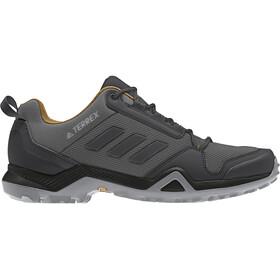 adidas TERREX AX3 Hiking Shoes Lightweight Men, grey five/core black/mesa